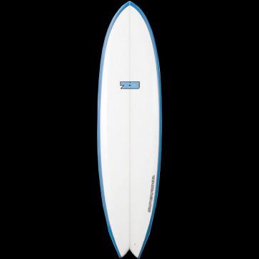 Global Surf Industries - 6'8'' 7S Superfish XL Surfboard - Blue Rails