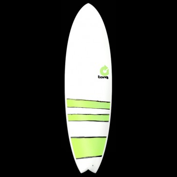 Torq Surfboards - 6'3'' Torq Mod Fish - Green Bands