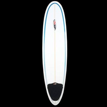 Global Surf Industries - 7'6'' NSP Funboard Surfboard - Blue