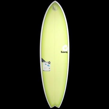 Torq Surfboards - 6'6'' Torq Mod Fish - Lime