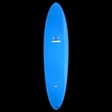 Epoxy Flyer Surfboards - 8'2'' Donald Takayama Flo Egg - Blue