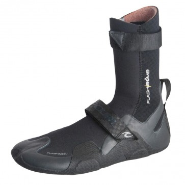 Rip Curl Wetsuits Flash Bomb 5mm Round Toe Wetsuit Boots