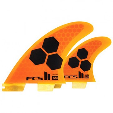 FCS II Fins - AM PC Tri-Quad Medium - Orange