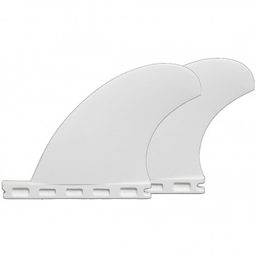 Futures Fins - QD1 3.75'' Quad Rears Thermotech - White