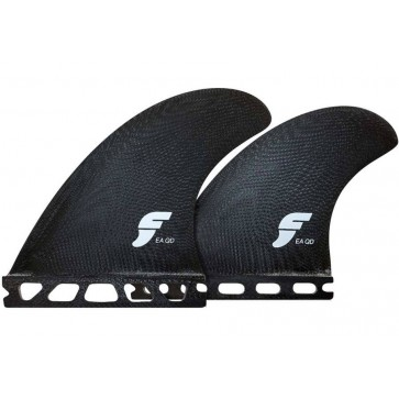 Futures Fins - EA Glass Quad - Solid Black