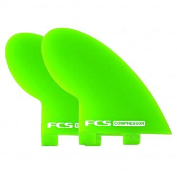 FCS Fins - Compressor Quad - Lime