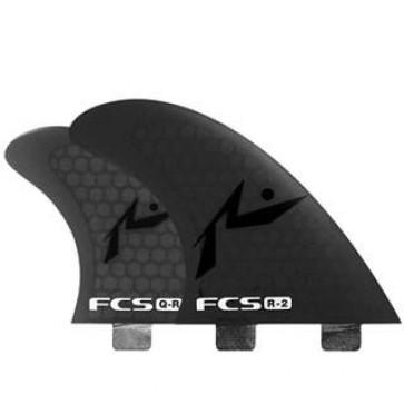 FCS Fins - R2 PC Quad - Grey Hex