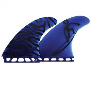 Future Fins - Twiggy Gun - Black/Blue