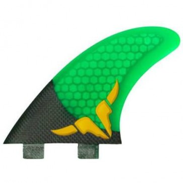 Kinetik Racing Fins - Occy Carbon Ultra FCS - Green