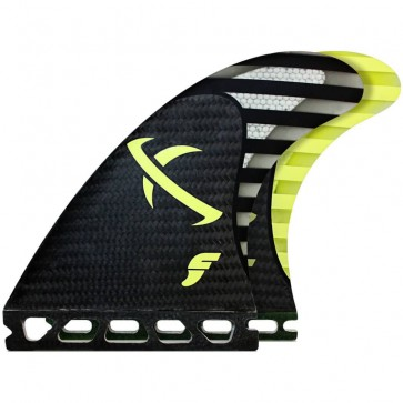 Futures Fins - Lost MB2 - Black/Yellow