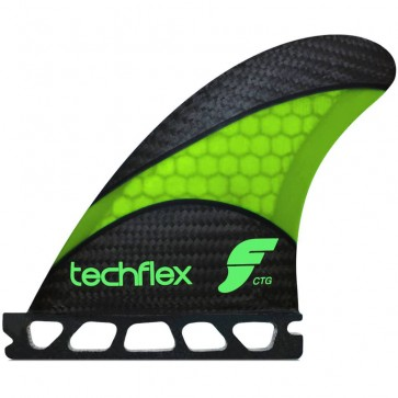 Futures Fins - CTG Techflex - Fluro Green