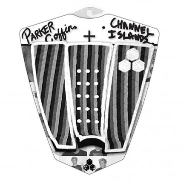 Channel Islands Parker Coffin Traction - White Monochrome