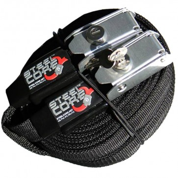 Steel Core 12' Tie Down Straps