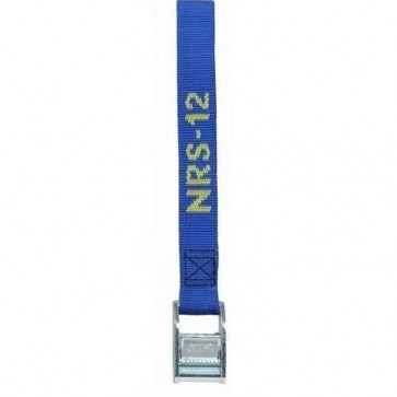 NRS - 12' Heavy Duty Tie Down Strap - Blue