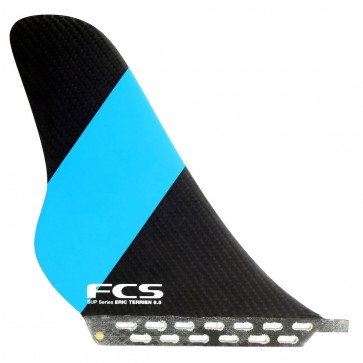 FCS Fins - 8.5'' Eric Terrien SUP Fin - Black/Blue/Red