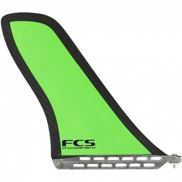 FCS Fins - 8.5'' Slater Trout SUP Fin - Green/Carbon