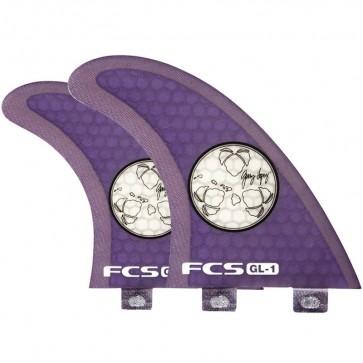 FCS Fins - GL1 PC SUP Tri-Quad - Purple Hex