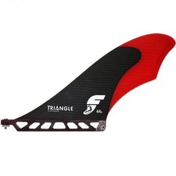 Futures Fins - Triangle Cutaway Small SUP Fin - Carbon/Red