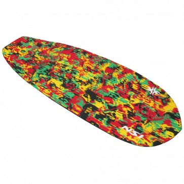 North Shore Inc - Full Monty Surf Pad with Inserts - Rasta