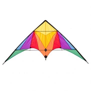 HQ Kites - Trigger Stunt Kite - Rainbow