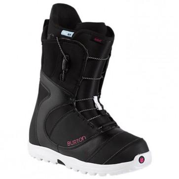 Burton Women's Mint Snowboard Boots - Black/White/Pink