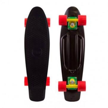 """Penny Skateboards - Original 22"""" Black Rasta Complete Skateboard"""