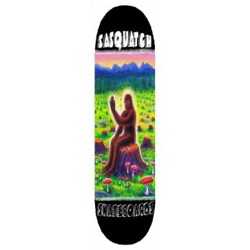 Sasquatch Mushroom Skateboard Deck