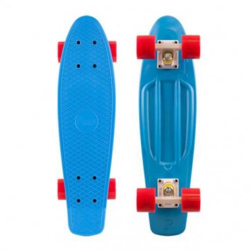 "Penny Skateboards - Original 22"" Cyan White Red Complete Skateboard"