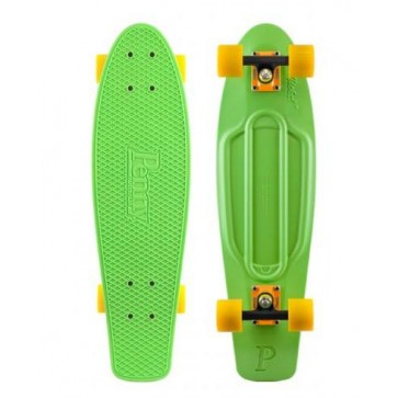 "Penny Skateboards - Nickel 27"" Green Orange/Black Yellow Complete Skateboard"