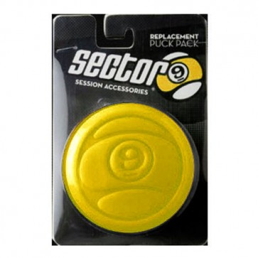 Sector 9 Circular Puck Replacement Pack - Yellow