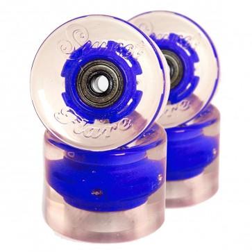 Sunset Skateboards - 59mm Flare Cruiser LED Wheels - Blue