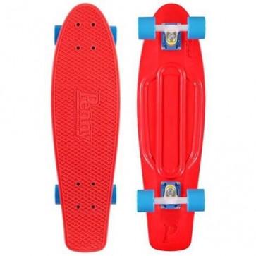 "Penny Skateboards - Nickel 27"" Red White Blue Complete Skateboard"