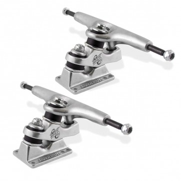 Sector 9 Gullwing 9'' Sidewinder Skateboard Trucks - Silver