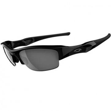 Oakley Flak Jacket Sunglasses - Jet Black/Black Iridium
