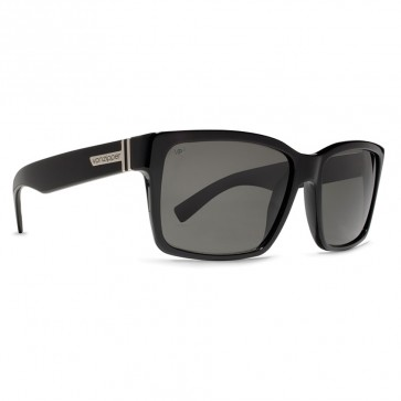 Von Zipper Elmore Polarized Sunglasses - Black Gloss/Grey Poly