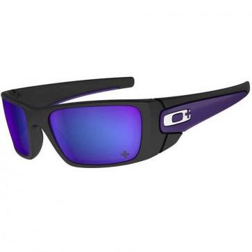 Oakley Fuel Cell Infinite Hero Sunglasses - Carbon/Violet Iridium