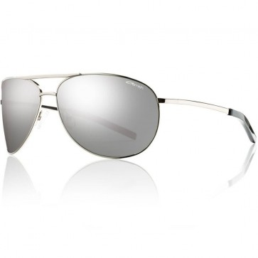 Smith Serpico Sunglasses - Silver/Platinum Polarized