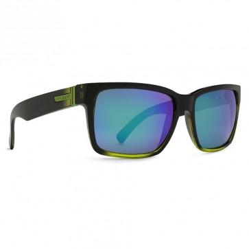 Von Zipper Elmore MindGlo Sunglasses - MindGlo Lime/Quasar Glo