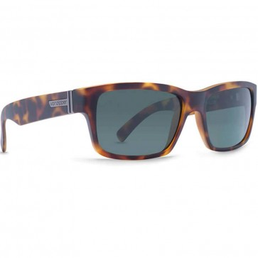 Von Zipper Fulton Sunglasses - Demi Tortoise Satin/Vintage Grey