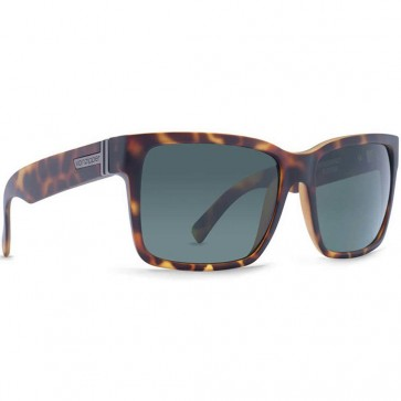 Von Zipper Elmore Sunglasses - Demi Tortoise Satin/Vintage Grey