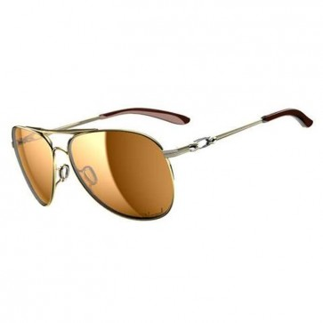 Oakley Women's Daisy Chain Sunglasses - Polished Gold/Bronze Polarized