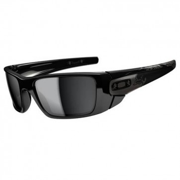 Oakley Fuel Cell Stephen Murray Sunglasses - Polished Black/Black Iridium