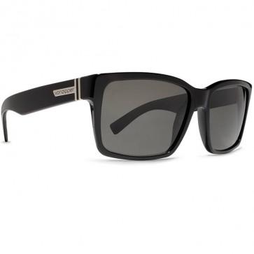 Von Zipper Elmore Sunglasses - Black Gloss/Vintage Grey
