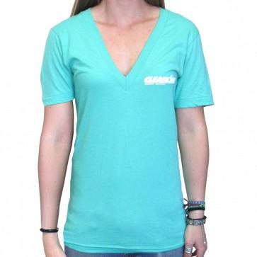Cleanline Women's Corp Logo/Big Rock Top - Mint