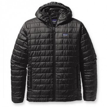 Patagonia Nano Puff Hooded Jacket - Black