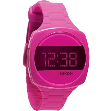 Nixon Dash Watch - Shocking Pink