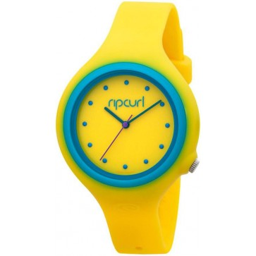 Rip Curl Aurora PU Watch - Yellow/Blue