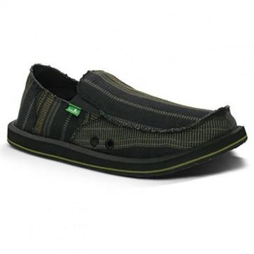 Sanuk Donny Sidewalk Surfers - Black/Yellow