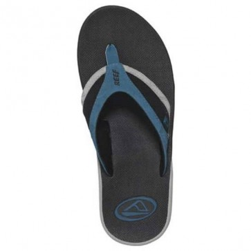 Reef Dawner Sandals - Black/White/Blue