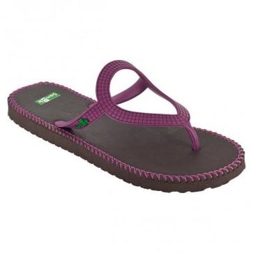 Sanuk Women's Ibiza Stitch Sandals - Fuchsia